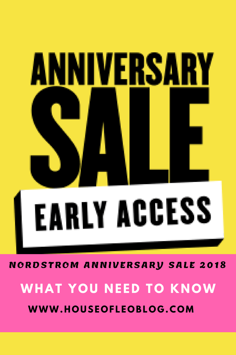 NORDSTROM ANNIVERSARY SALE 2018 - WHAT YOU NEED TO KNOW | House of ...