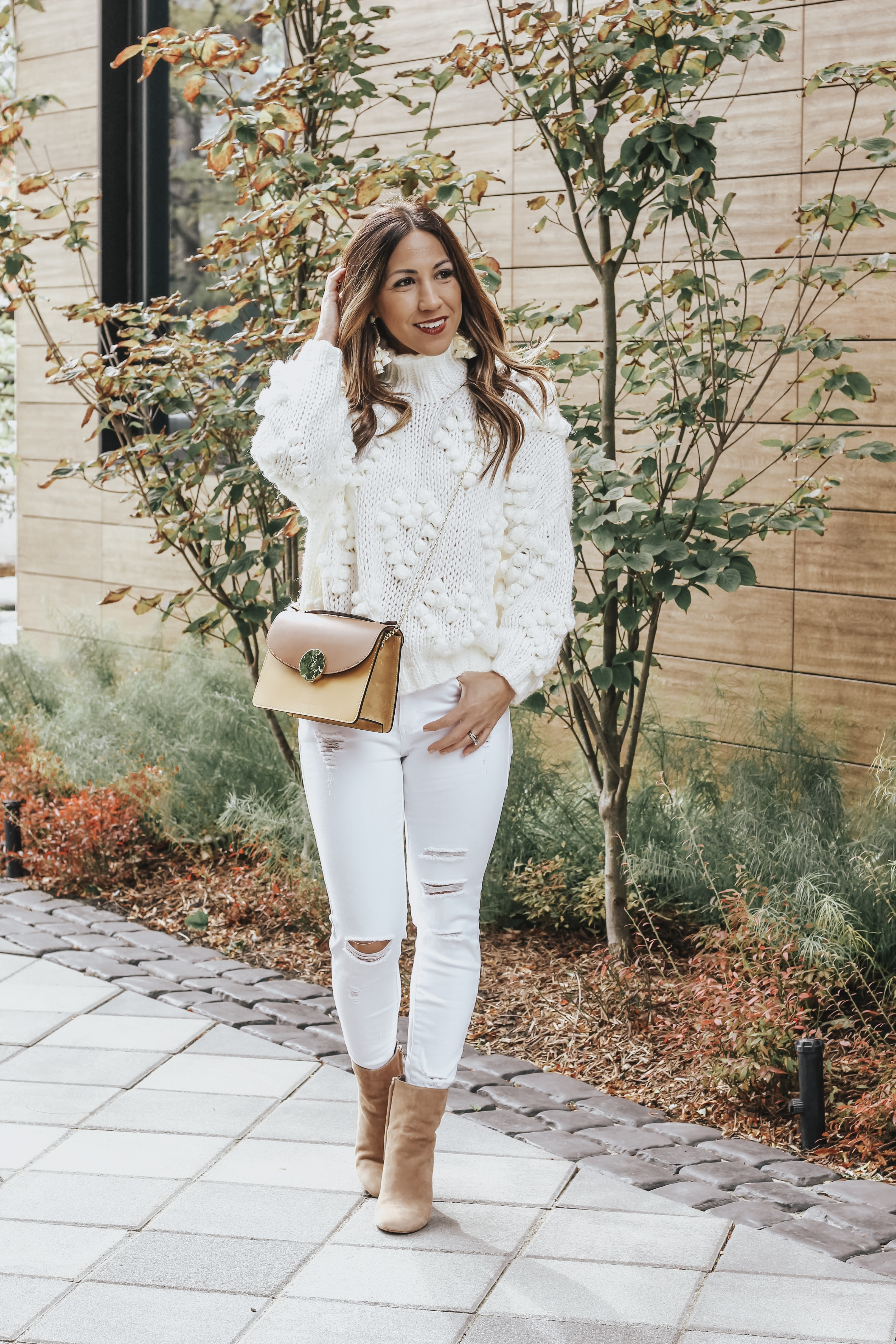 the winter white sweater to buy now