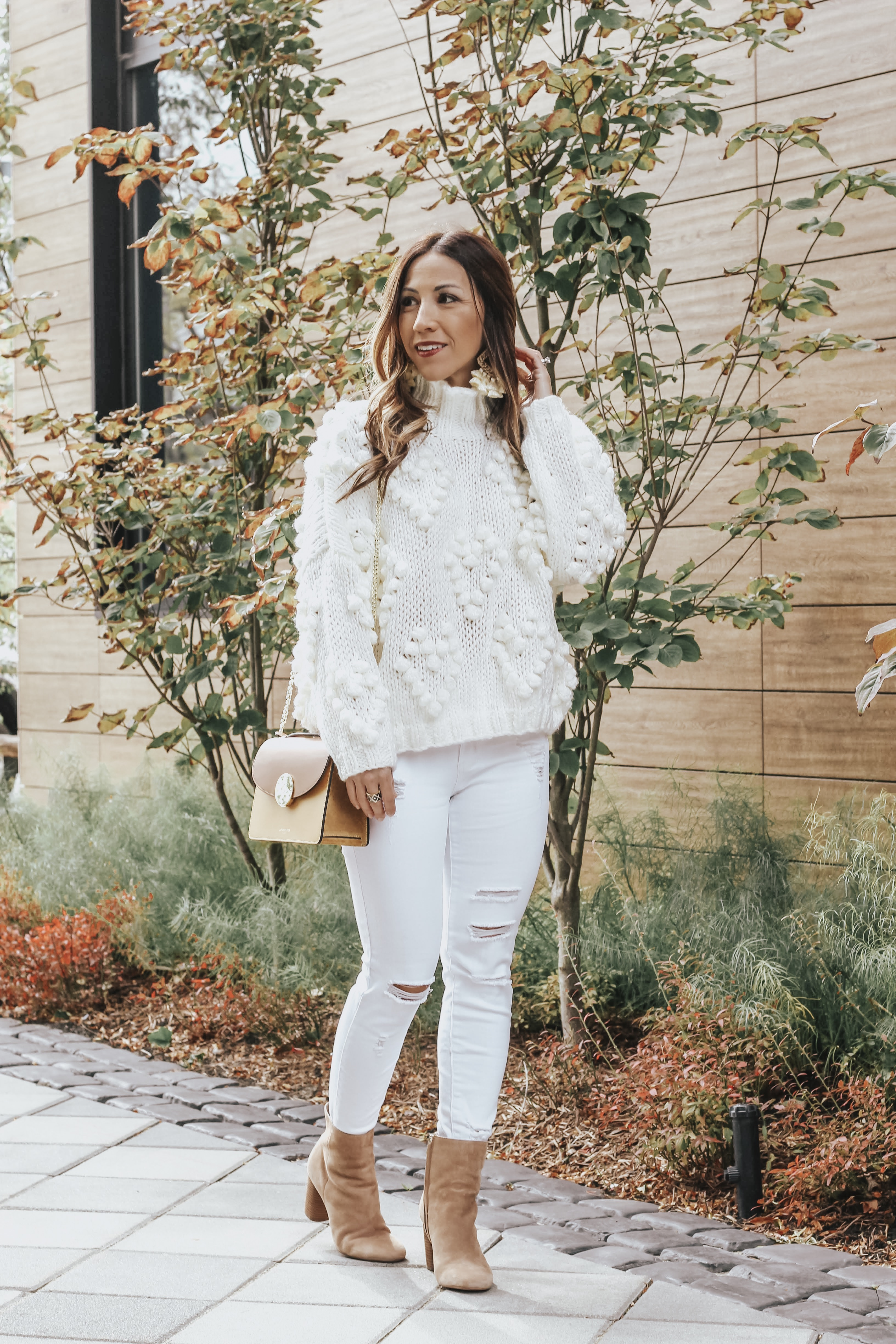 the winter white sweater you need now