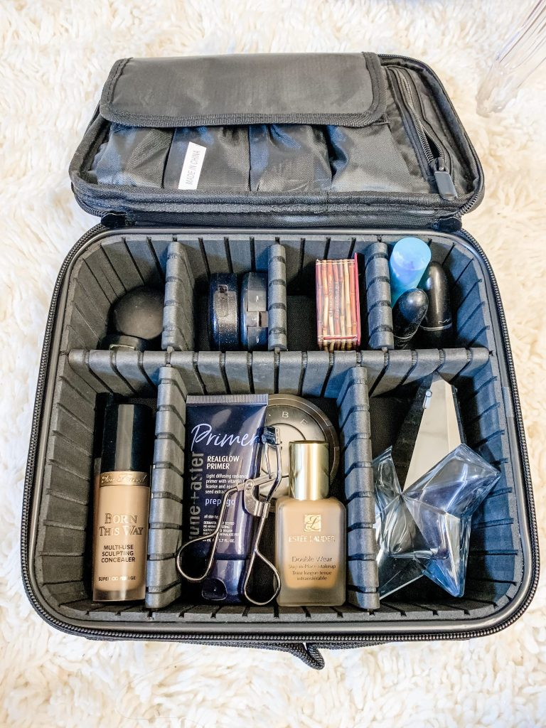 Amazon Haul by top US fashion blog, House of Leo Blog: image of Travel Makeup Case