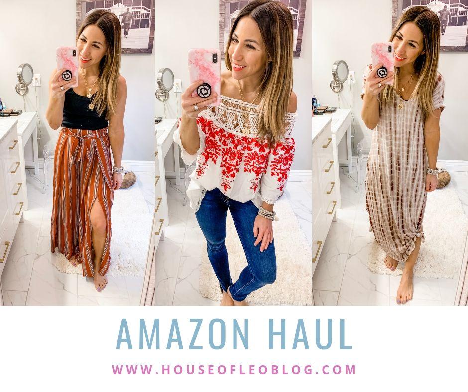 Amazon Haul by top US fashion blog, House of Leo Blog