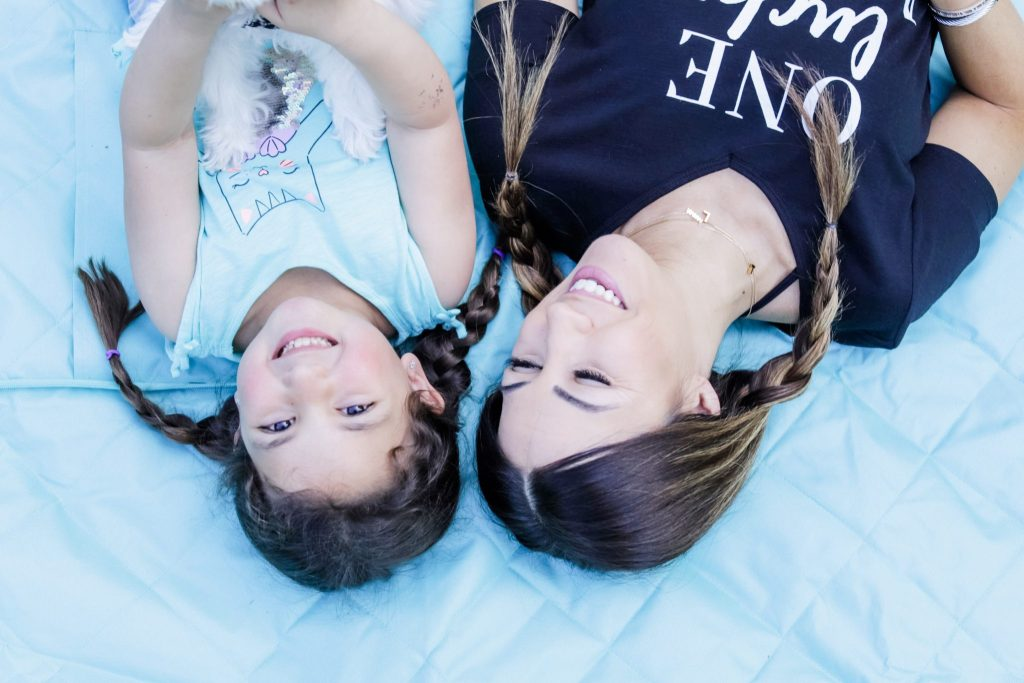 How I Balance Blogging and Being A Mom With Stage Stores by top US fashion blog, House of Leo Blog: image of mother and daughter