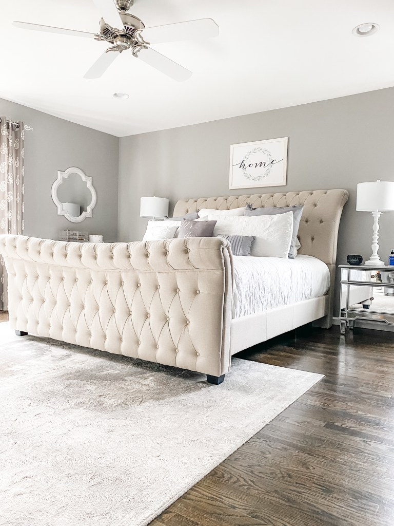 Master Bedroom Refresh with Raymour & Flanigan by top US lifestyle blog, House of Leo Blog: image of master bedroom refresh