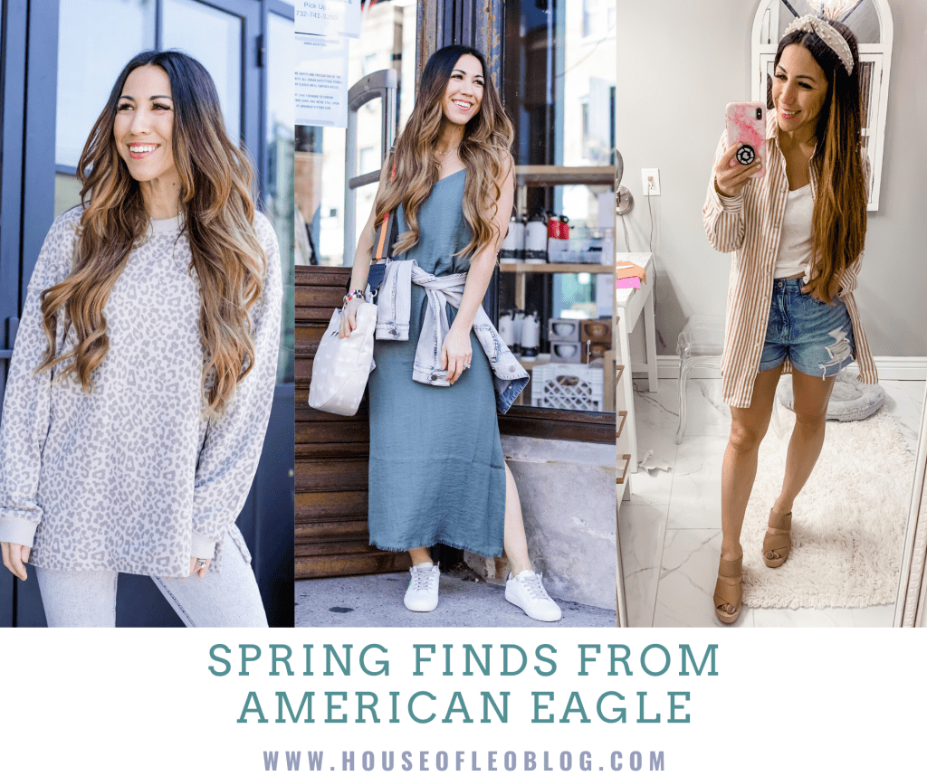 Spring Finds From American Eagle by top US fashion blog, House of Leo Blog: spring finds from American Eagle