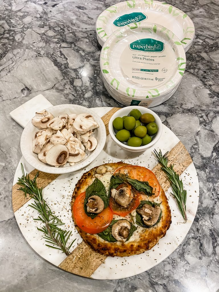 Celebrate Friendsgiving With ShopRite by top US lifestyle blog, House of Leo Blog: celebrate Friendsgiving with ShopRite, image of pizza boards, pizza board appetizers