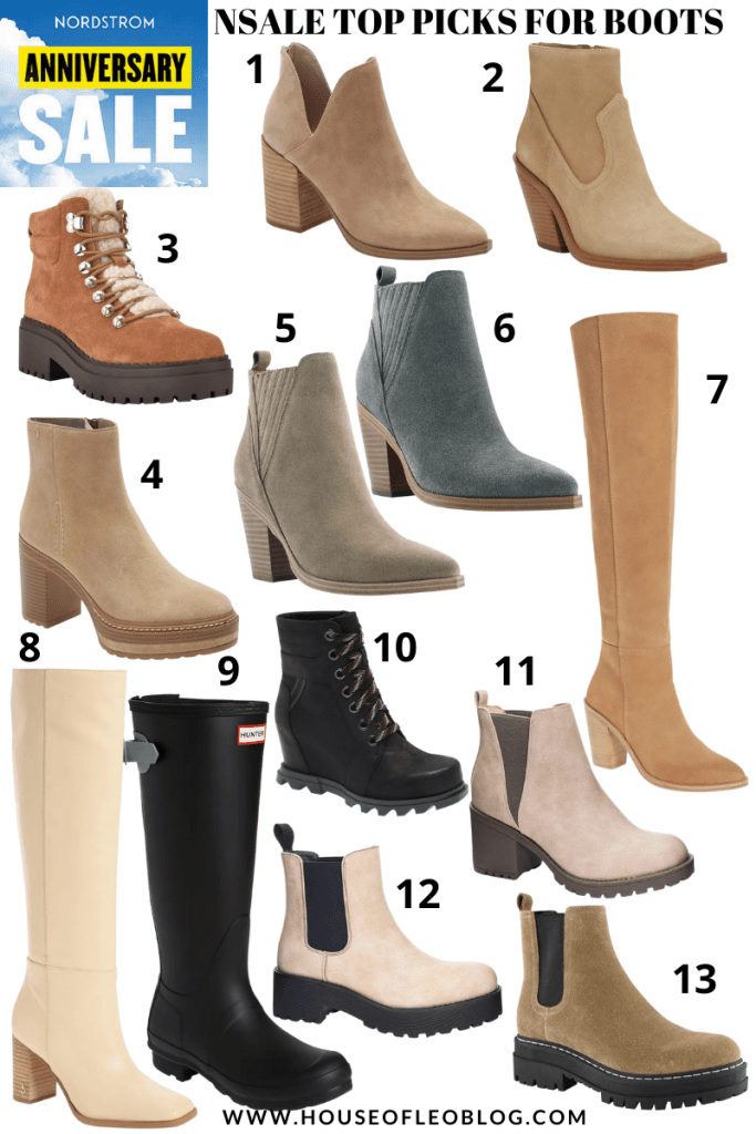 2021 Nordstrom Anniversary Sale Wishlist by top US fashion blog, House of Leo Blog: 2021 Nordstrom Anniversary Sale boots