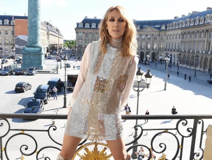 Celine Dion via Vogue Instagram