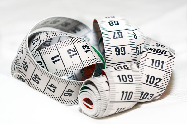 photo of measuring tape