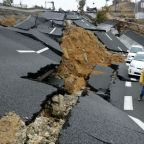 destruction causes, catastrophies, road destruction, earthquake disasters
