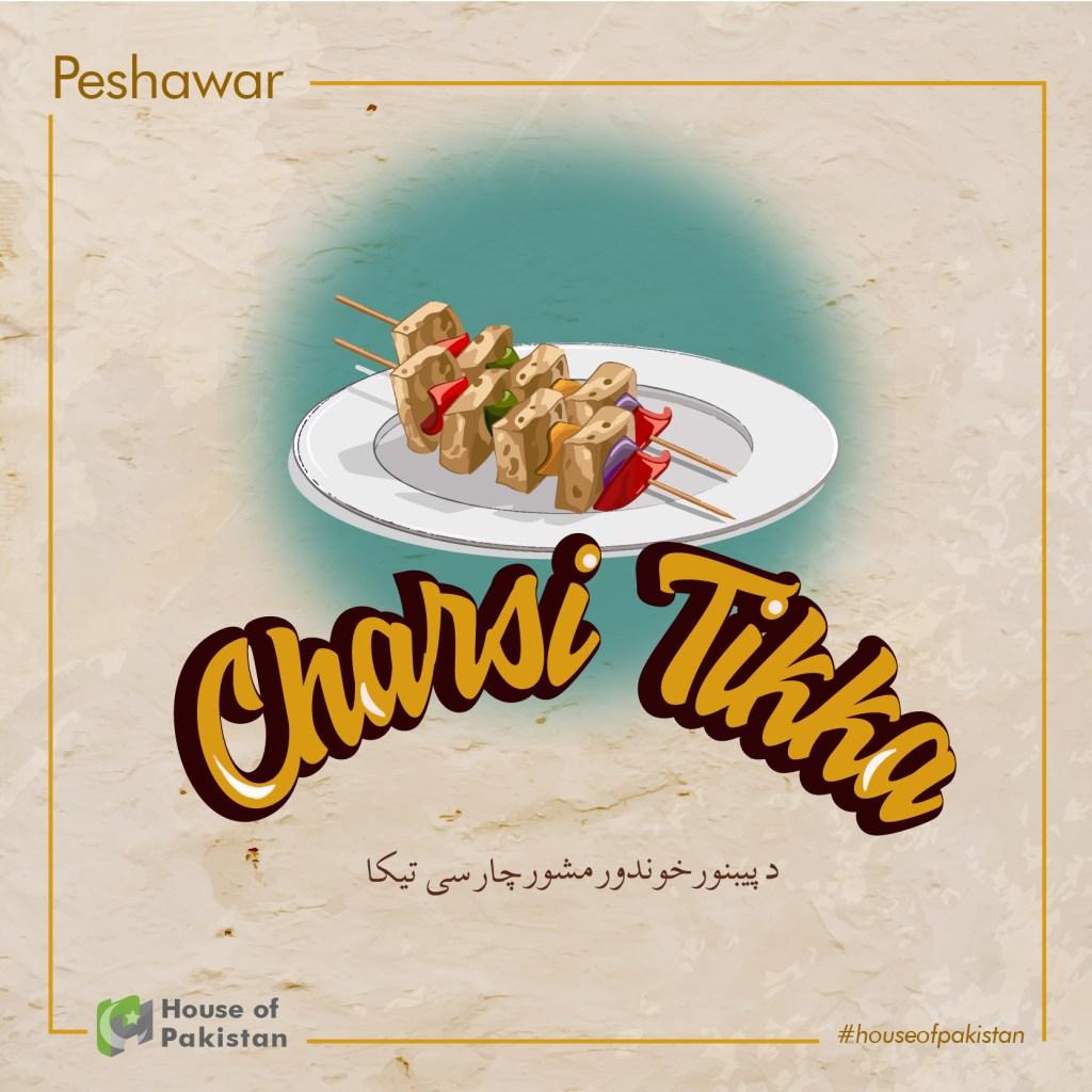 Peshawar, Charsi Tikka, Famous, Tikka Recipe, Tikka, food culture in Pakistan
