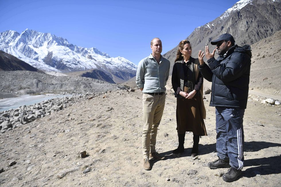 Chitral district, glacier, royal tour, pakistani trends