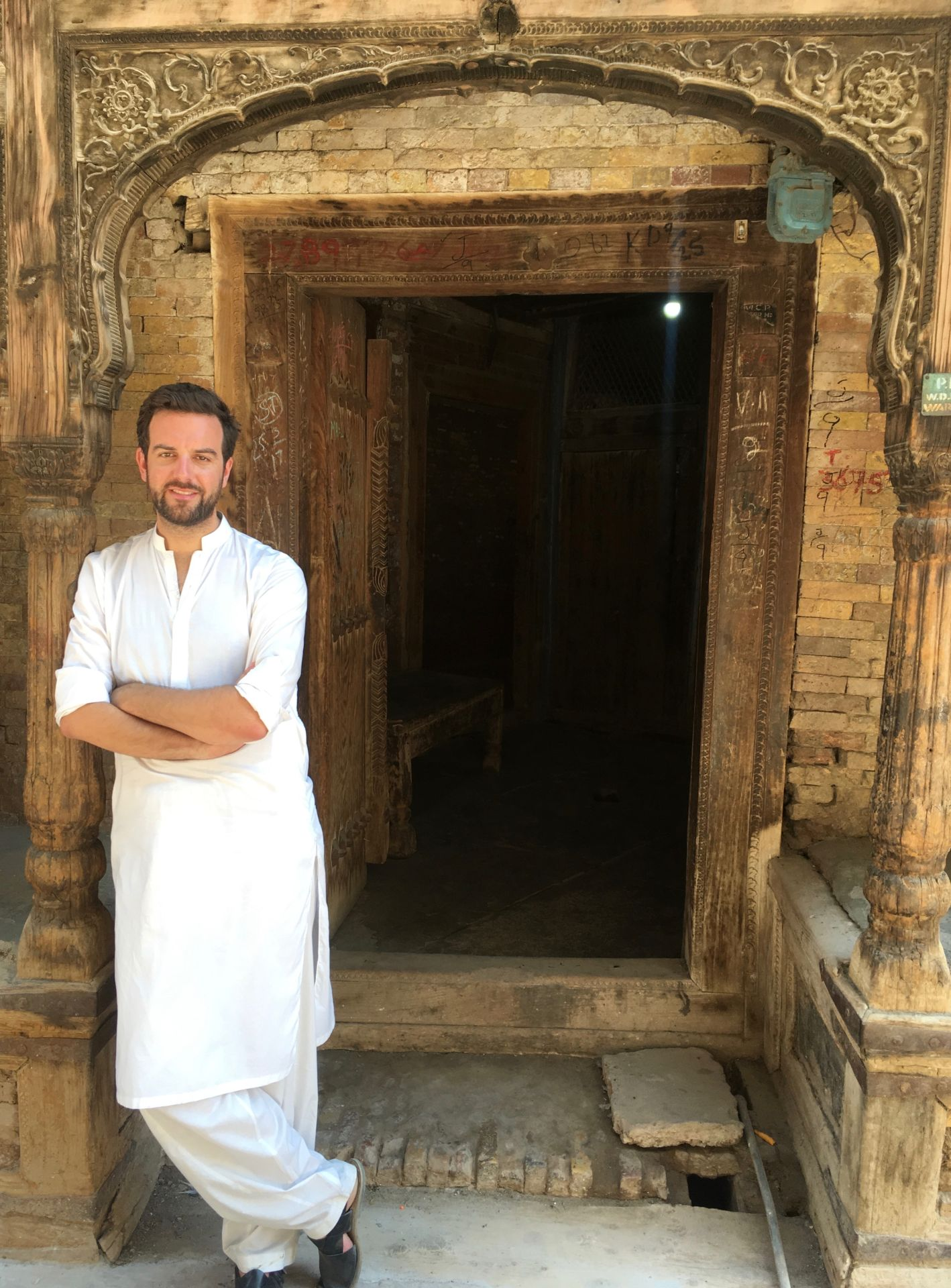 foreigner in Pakistan, travel