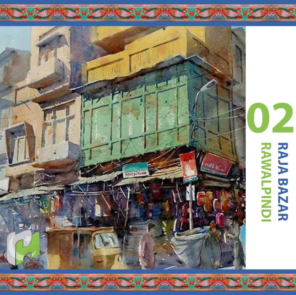Traditional marketplaces Pakistan, Raja Bazar, Rawalpindi, shopping in Pakistan