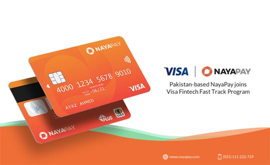 NayaPay, Visa fintech, visa card, online payment, online transaction