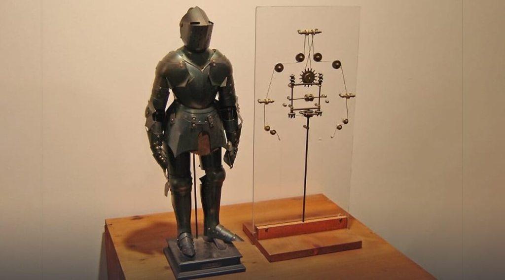 Leonardo's Robot, robotic inventions, scientific inventions
