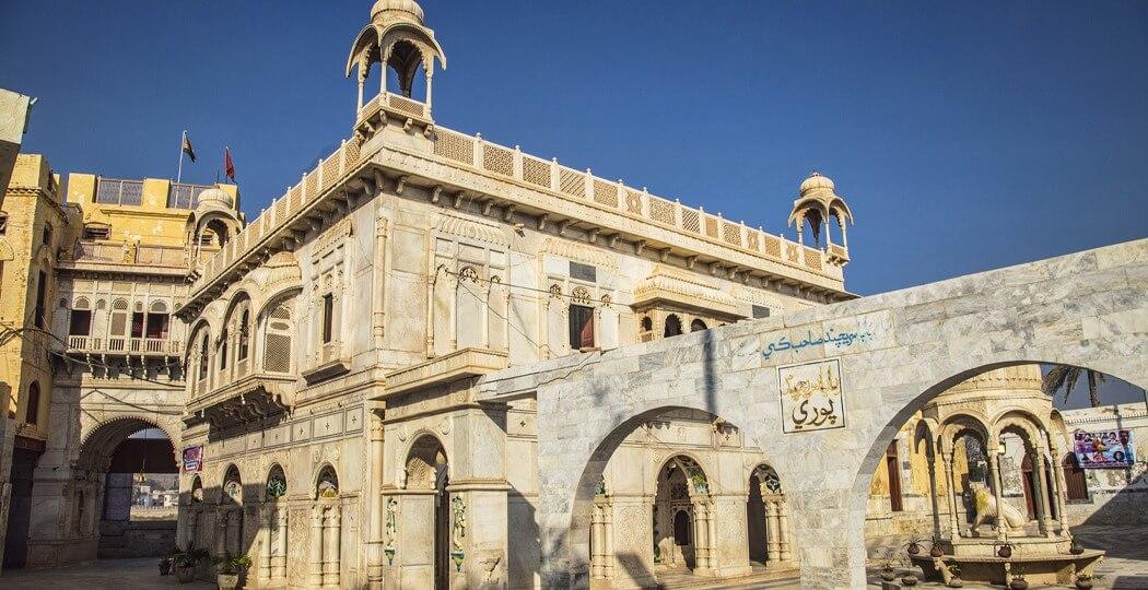 Sukkur, Sadhu Bela, temple