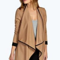 boohoo-brown-waterfall-jacketb