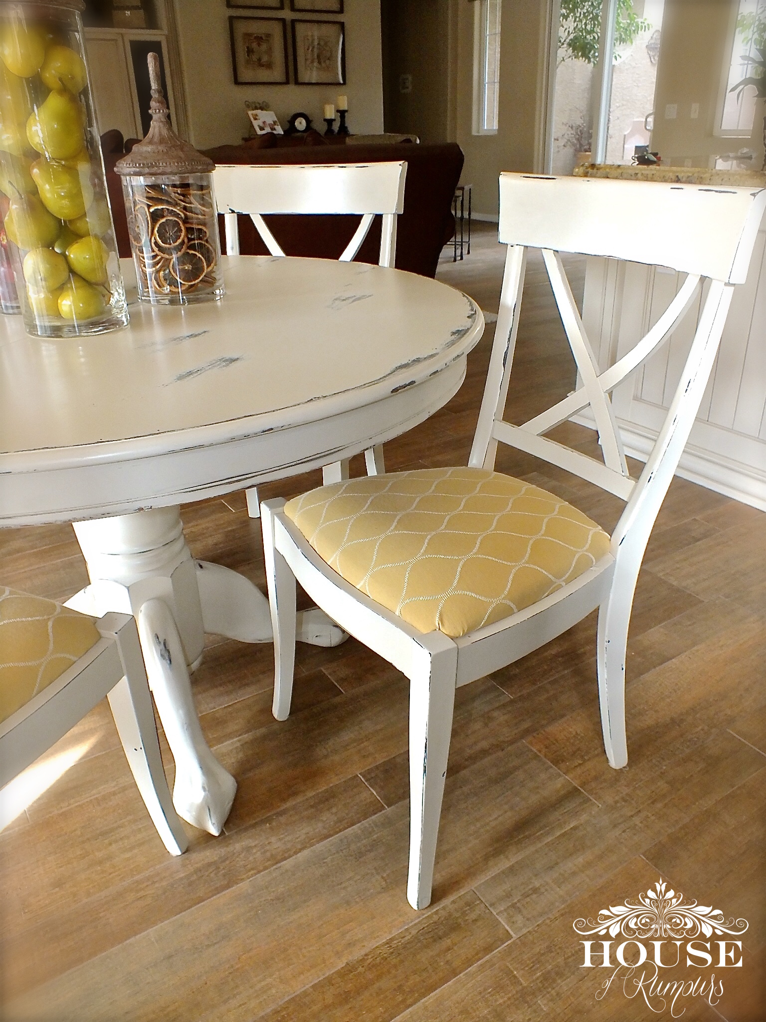 Craigslist Table Turned Pottery Barn Dining Set House Of