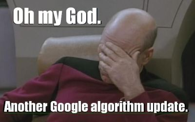 Google Algorithm Update Strategy: Just Deal With It