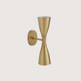 Gold Two Way Wall Light