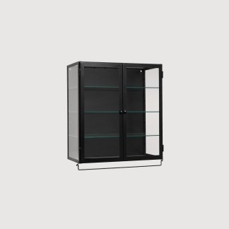 Black Metal Wall Cabinet
