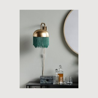 Brass Tassel Wall Lamp Nordal