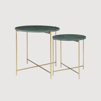 Brass Gold Marble Table
