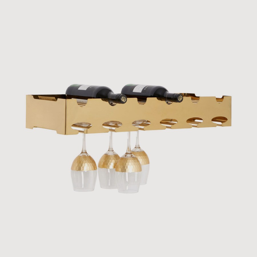 Novo Gold 6 Bottle Wine Rack gallery image
