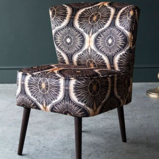 anna Hayman chair, house of Sloane chair, cocktail chair, velvet chair