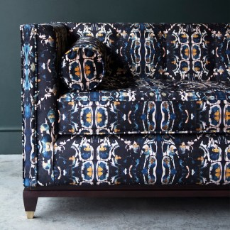 velvet sofa, velvet cocktail sofa, Anna Hayman, house of sloane