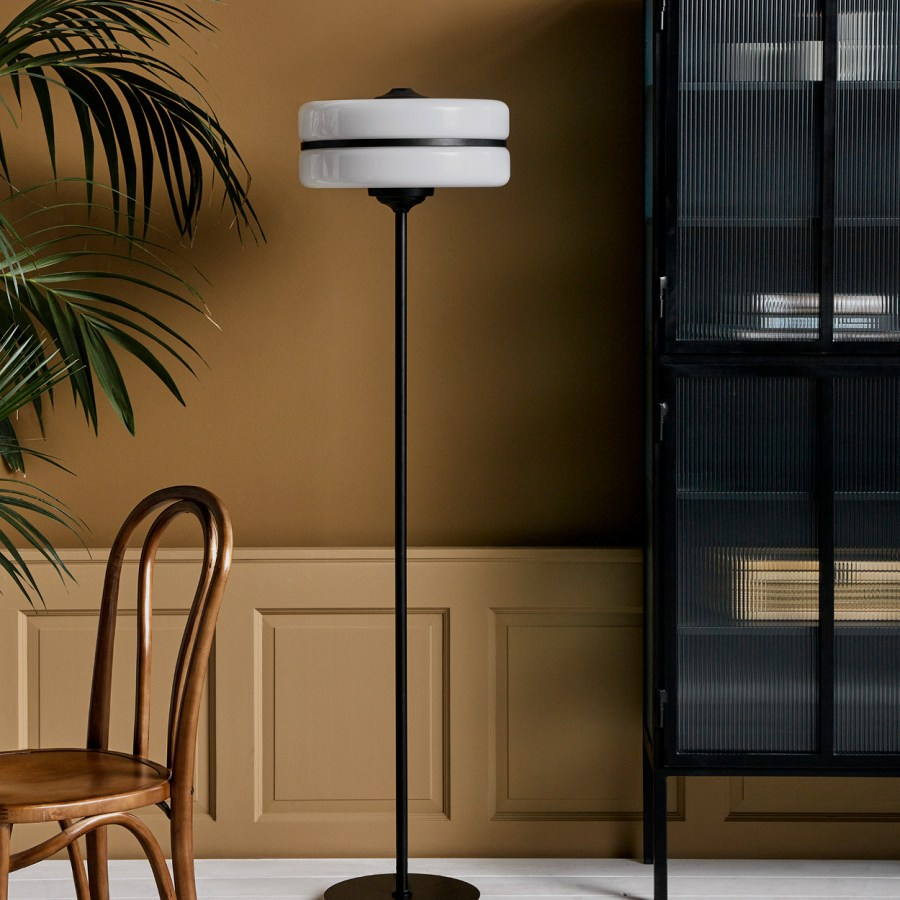 Orion Monochrome Floor Lamp gallery image