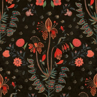 Mind The Gap Wallpaper Gypsy Anthracite