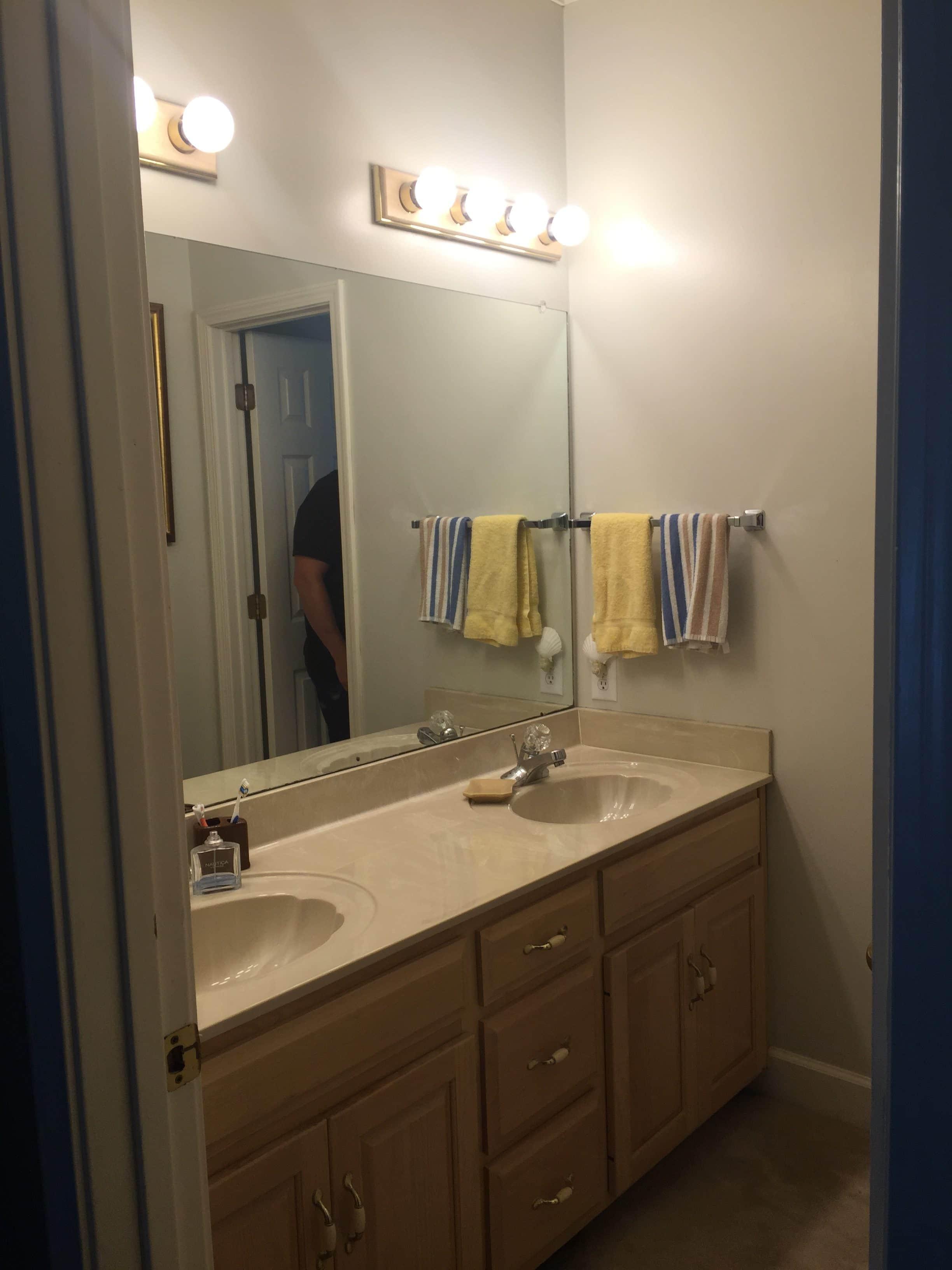 Modern Boho Bathroom Remodel