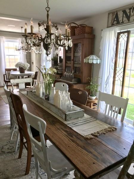 Library Table Turned Farmhouse