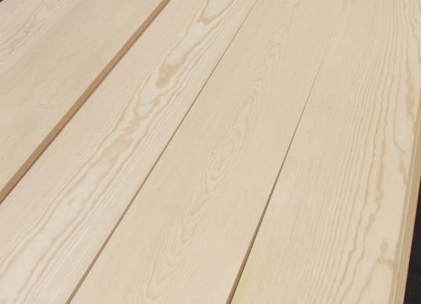Pine boards used as inexpensive flooring - House on Winchester