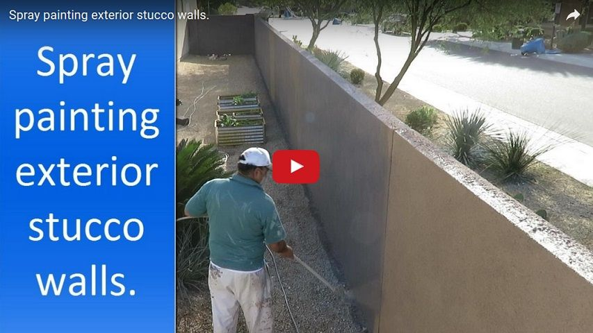 Cost to paint a house in Phoenix AZ   ABN Painting Price for painting stucco wall