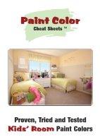 best paint colors for kids rooms
