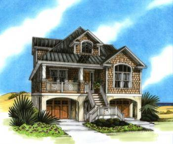 Featured Style  Coastal House Plans   America s Best House Plans Blog Picture your dream house   in