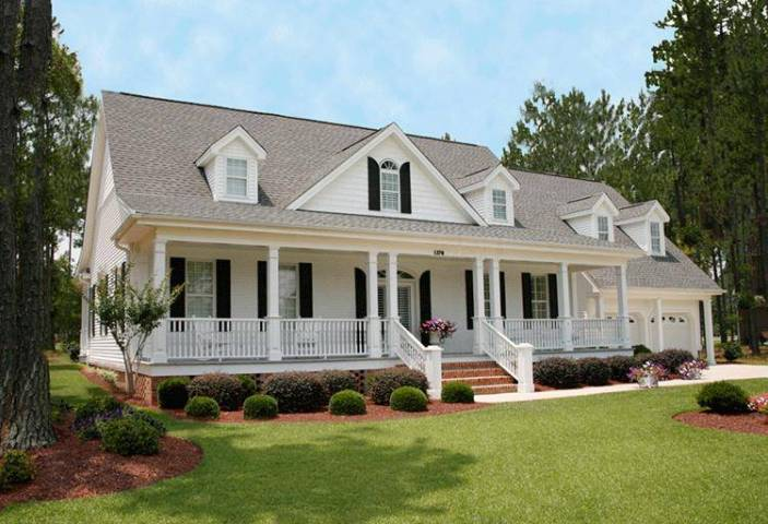 The All American Front Porch   America s Best House Plans Blog Country front porch  House Plan