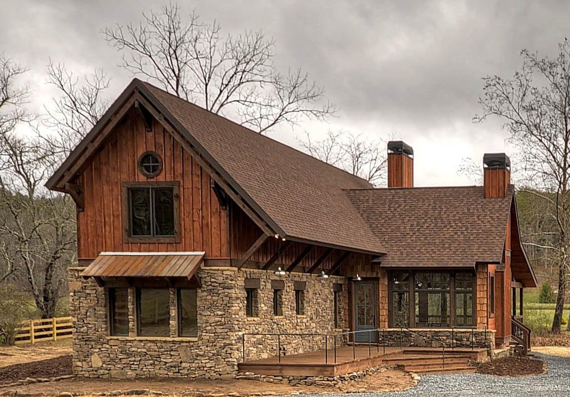 Mountain Rustic Plan 1757 Square Feet 3 Bedrooms 2