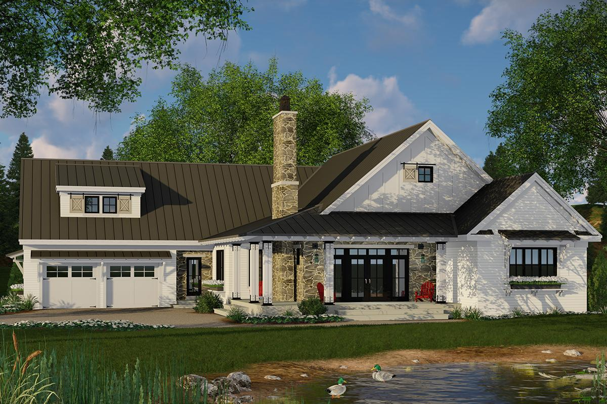 Modern Farmhouse Plan 2241 Square Feet 3 Bedrooms 25