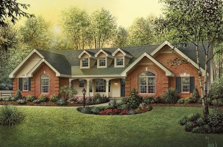 Cape Cod Plan  1 929 Square Feet  4 Bedrooms  3 Bathrooms   5633 00154 photo