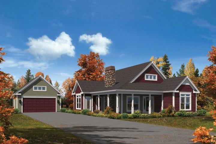 Ranch Plan  1 582 Square Feet  3 Bedrooms  2 Bathrooms   5633 00213 photo