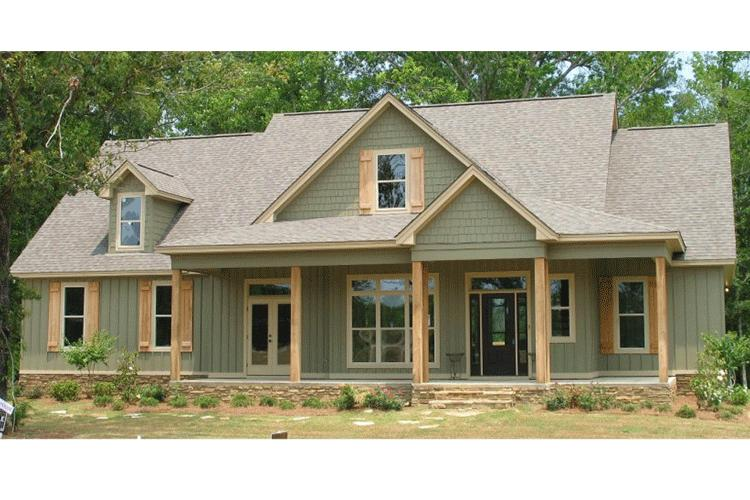 Traditional Plan  2 456 Square Feet  4 Bedrooms  3 Bathrooms   1070     photo