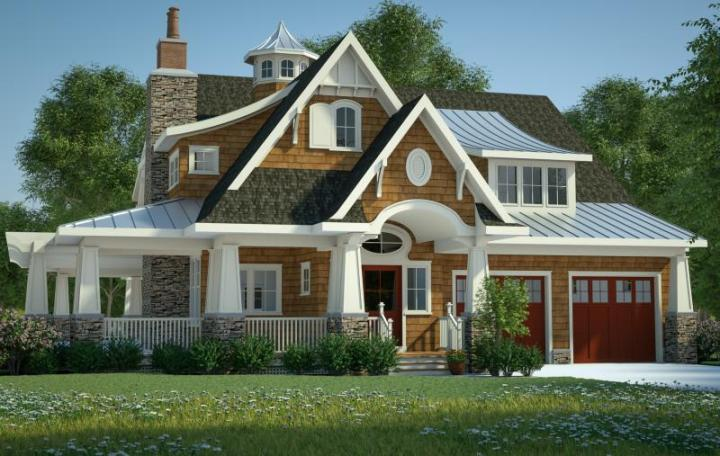 Craftsman Plan  3 197 Square Feet  4 Bedrooms  3 5 Bathrooms   7806     photo