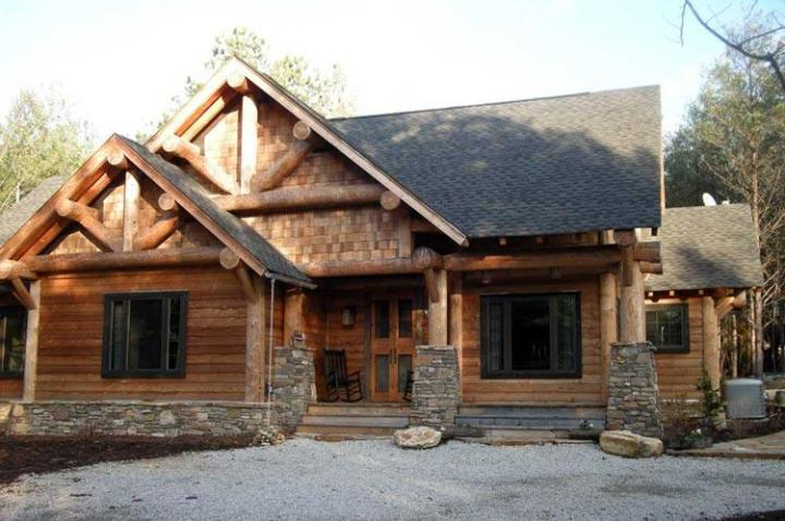 Cabin Plan  1 416 Square Feet  3 Bedrooms  2 Bathrooms   1907 00007 photo