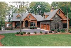 Courtyard Entry House Plans   Garden Entry Home Designs PLAN3323 00340