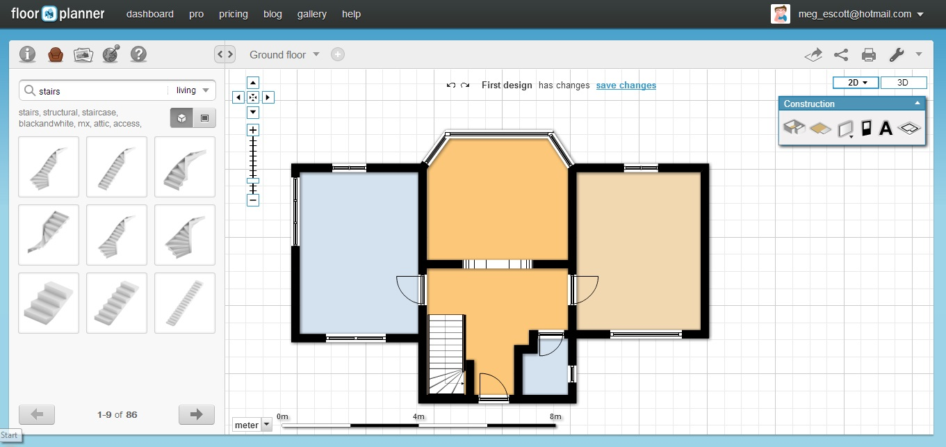 for free floor plan free 2d floor plan software 2d floor plans