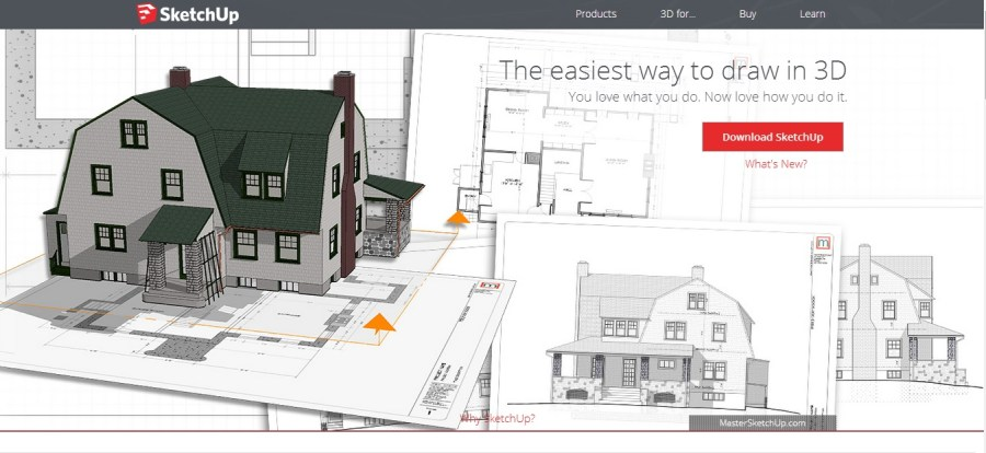 Free Floor Plan Software   Sketchup Review Skethcup review homepage screenshot