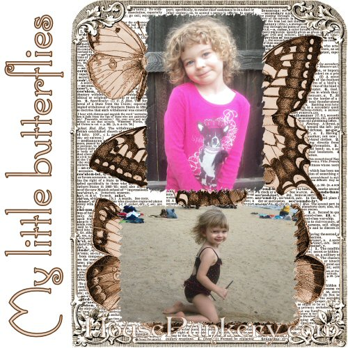 Example scrapbook page